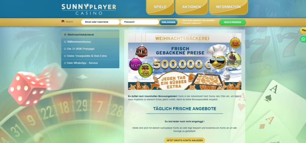 Sunnyplayer Netent Casino Bonusangebote