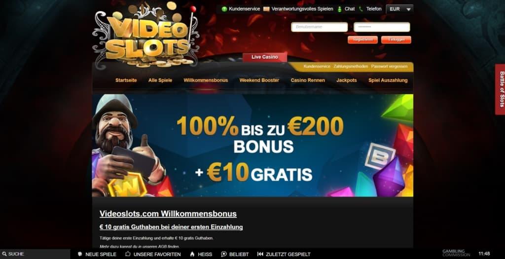 Videoslots Netent Casino Bonusangebote