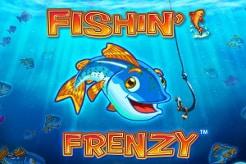 Neue Online Casinos Fishin Frenzy Logo