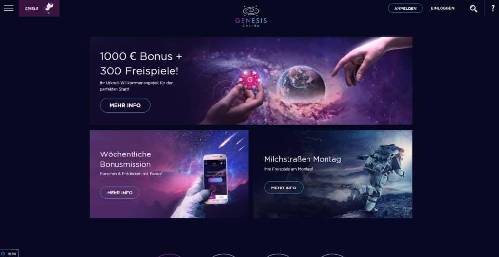 Genesis Netent Casino Bonus
