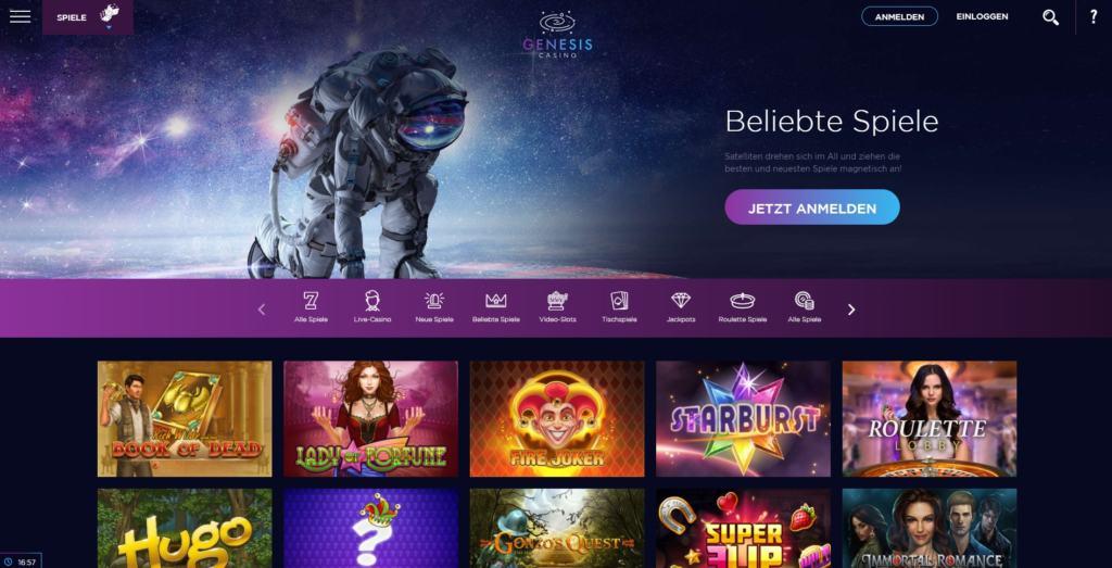 Genesis Netent Casino Startseite