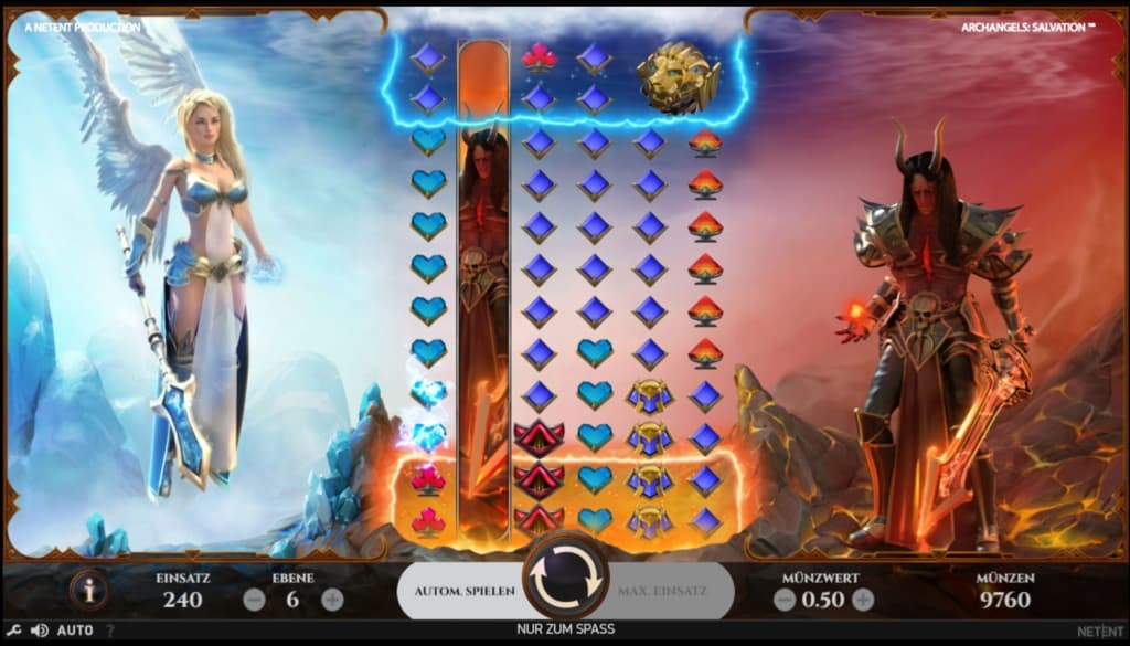 Archangels Salvation Netent Casino Spielübersicht