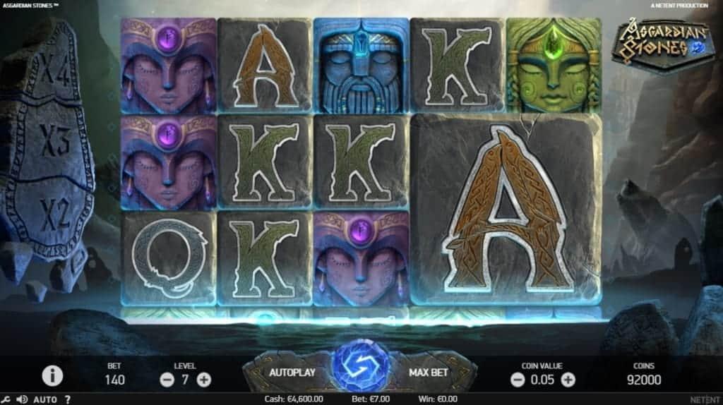 Asgardian Stones Netent Online Casino Spielverlauf