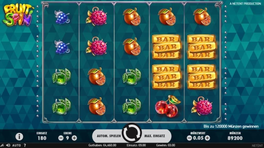 Fruit Spin Netent Online Casino Spielübersicht
