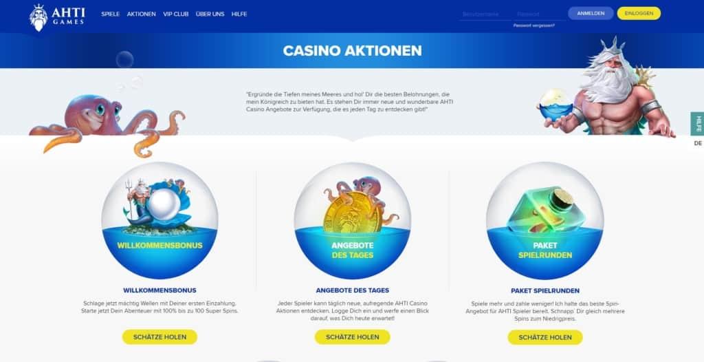 AHTI Games Netent Casino Bonus