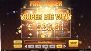 fire joker neue online casinos big win