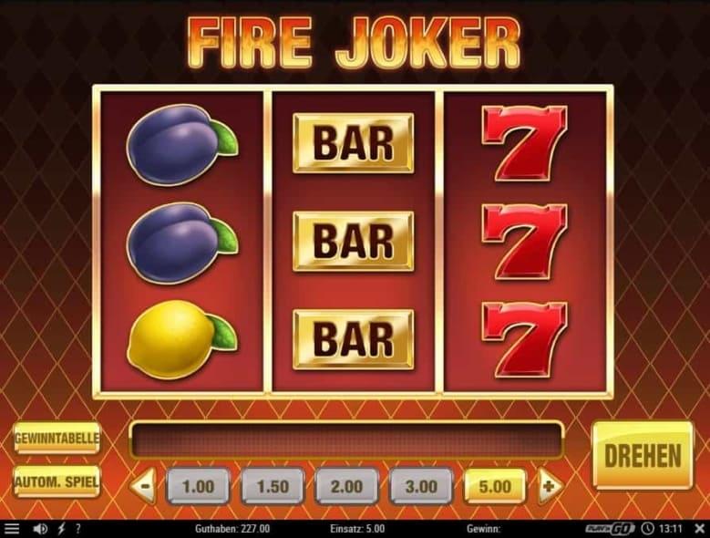 Casino Spiel Fire Joker Vorschau