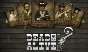 Dead or Alive - Netent Slot ohne Limit Logo