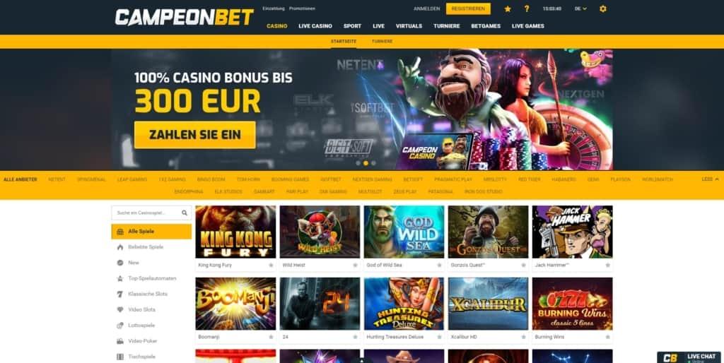 campeonbet-casino-startseite