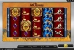 Freispiele bei der Gamomat Slot 40 Thieves