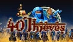 40 Thieves Gamomat Slot Logo