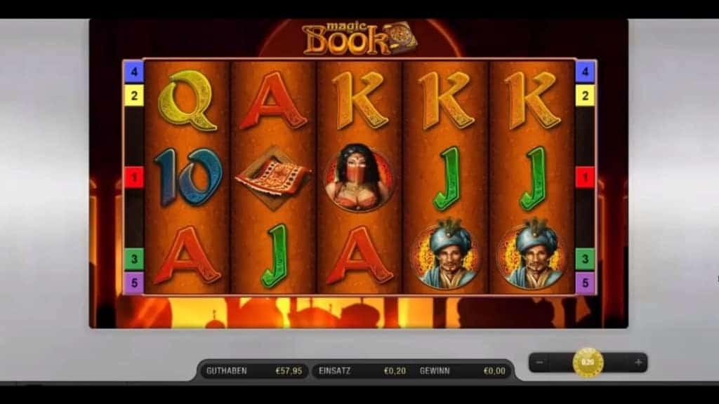Magic Book Casino Spiel Vorschau