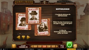 gunslinger reloaded slot kopfgeldjagd