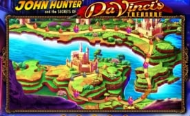 john hunter da vincis treasure casino slot bonus
