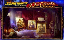john hunter da vincis treasure casino slot feature