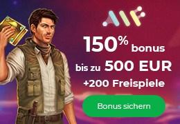 Alf Casino 150% Bonus