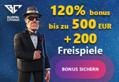 Buran Casino 120% Bonus