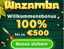 Wazamba Online Casino Bonus