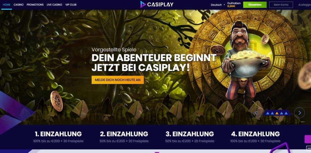 Casiplay Online Casino Bonus
