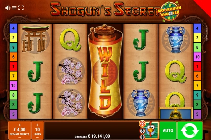 Shoguns Secret Online Casino Slot