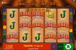 Shoguns Secret Online Casino Vollbild