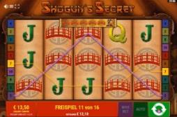 Shoguns Secret Online Casino Vollbild