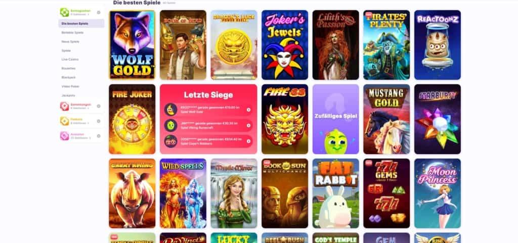 Spielautomaten Nomini Online Casino