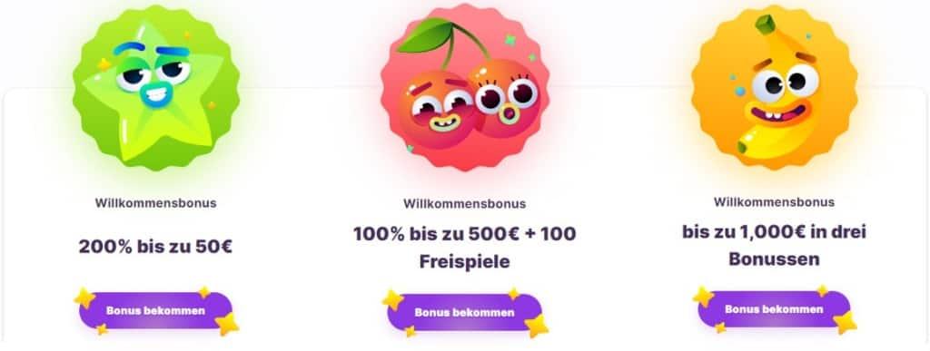 Nomini Online Casino Bonus 100%, 200% oder 1000€