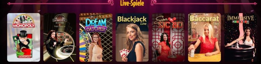 Echtgeld Casino ohne Limit Teaser